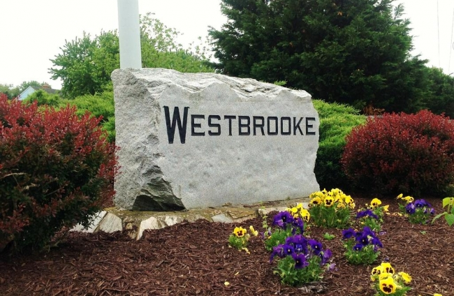 Entrance to Westbrooke in Salisbury MD