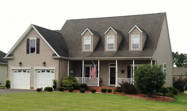 Cape Cod home in the Breckenridge community of Delmar MD